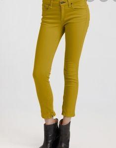 Rag and Bone Mustard Yellow Skinny Jeans size 30